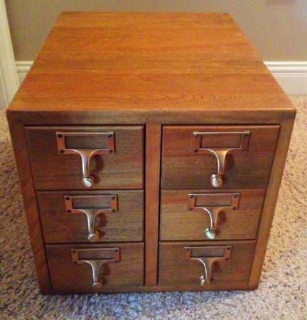 Vintage Library Cabinet     $100     View on Craigslist