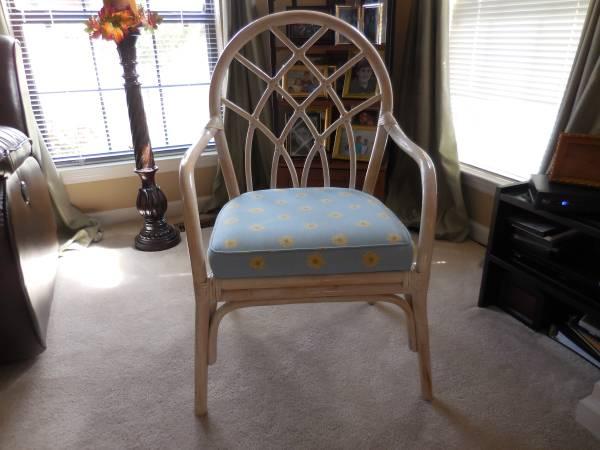 Rattan Chair     $40     View on Craigslist