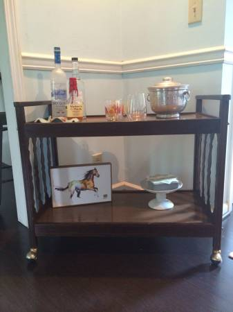 Vintage Bar Cart     $50     View on Craigslist