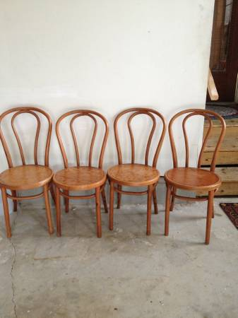 Set of Bentwood Chairs     $100     View on Craigslist