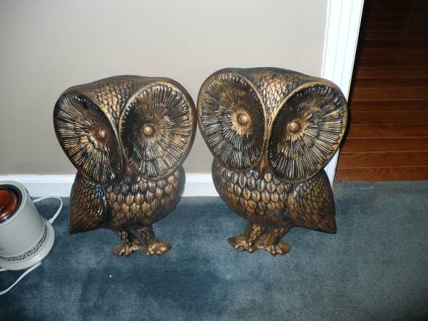 Pair of Owls     $50     View on Craigslist