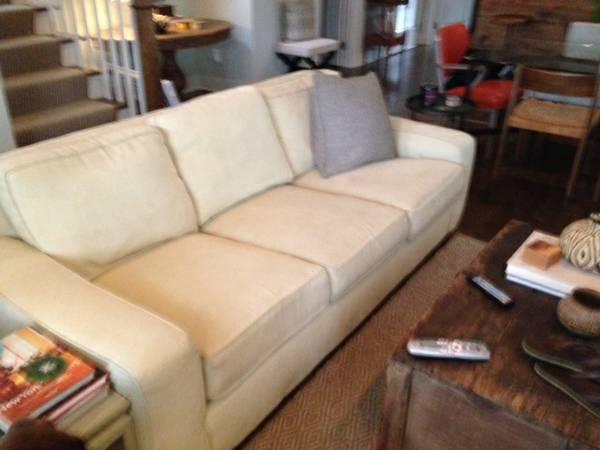 Mitchell Gold Sofa     $200     View on Craigslist