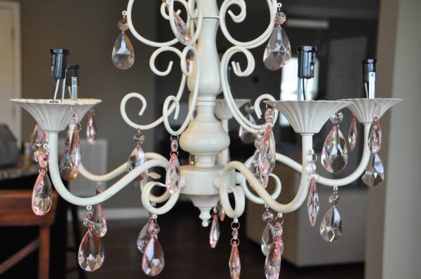 PB Kids Chandelier     $100   This chandelier is brand new and retails for $199.    View on Craigslist