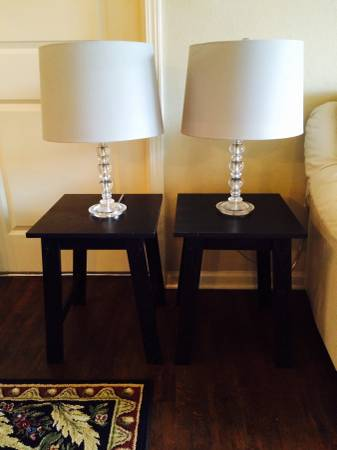Lamps and Tables     $38     View on Craigslist