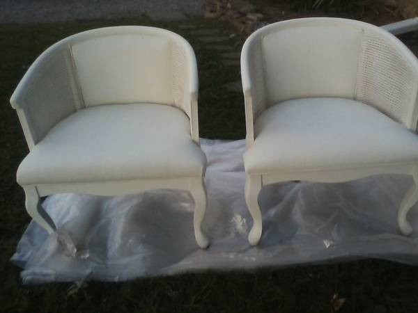 Pair of Cane Chairs     $85     View on Craigslist
