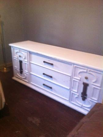 Dresser     $80   This dresser could also be used as a TV stand or changing table.    View on Craigslist