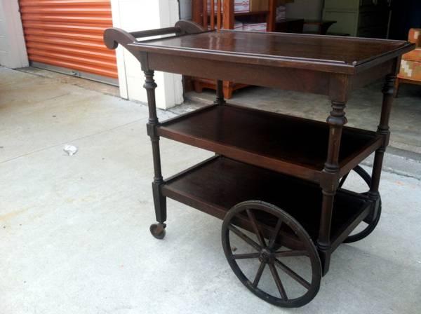 Antique Tea Cart     $145     View on Craigslist