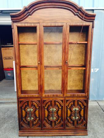 China Cabinet     $50   This is a really good deal. This china cabinet would be a good piece to paint.    View on Craigslist