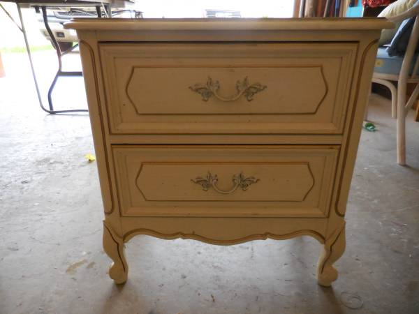 French Provincial Nightstand     $40     View on Craigslist