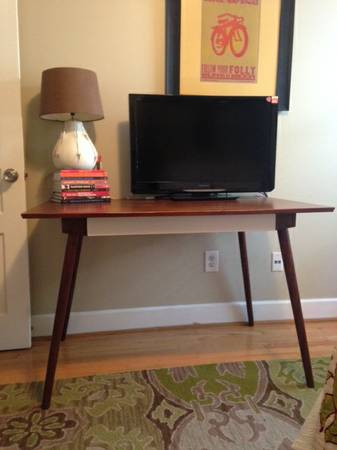 West Elm Desk     $100     View on Craigslist