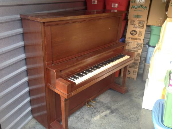 Piano     Free   This piano needs tuning and a pedal fixed but for free this is a great deal!    View on Craigslist