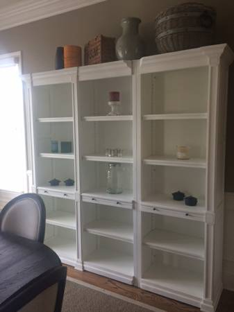 Restoration Hardware Open Shelving     $1200   These shelves currently retail for $2695.    View on Craigslist