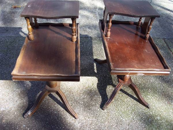 Pair of Vintage End Tables     $30     View on Craigslist