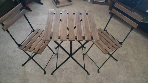 Ikea Table and Chairs     $65     View on Craigslist