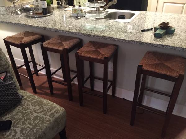 Set of Four Barstools     $150     View on Craigslist