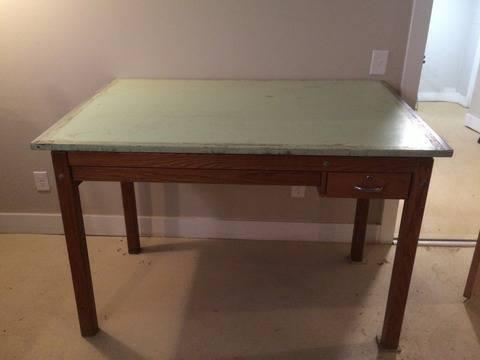 Vintage Drafting Table     $85     View on Craigslist