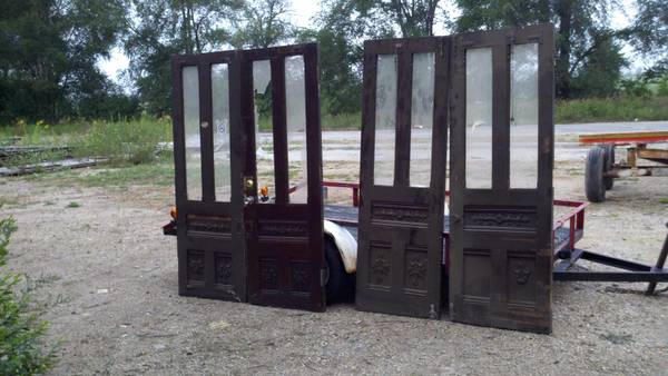 Antique Doors     $450   These doors came out of an old hotel in Chicago.    View on Craigslist