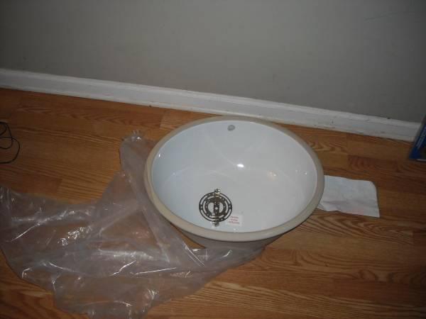 New Ceramic Basin Sink     $20     View on Craigslist