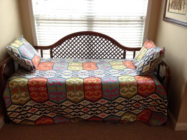 Rattan Daybed     $125     View on Craigslist