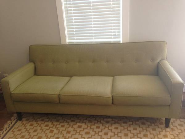 Macy's Mid Century Style Sofa     $400     View on Craigslist