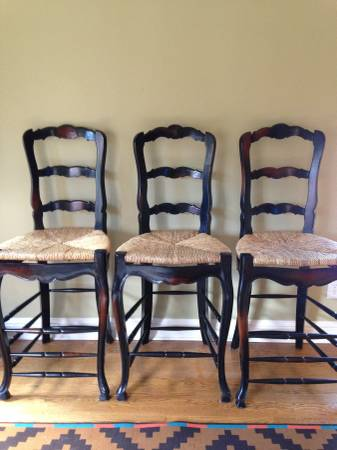 Barstools     $25   Not sure if it is $25 for all or $25 each.    View on Craigslist