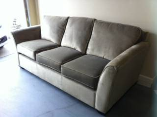 Lazy Boy Sofa     $375   This is the best kind of sofa to get - it was kept in a living room so got very little use.    View on Craigslist