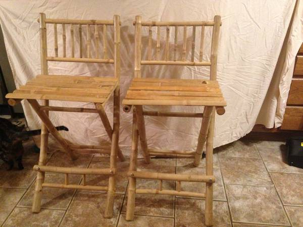 Pair of Bamboo Stools     $50     View on Craigslist