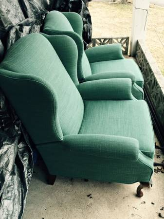 Pair of Wingback Chairs     $250     View on Craigslist