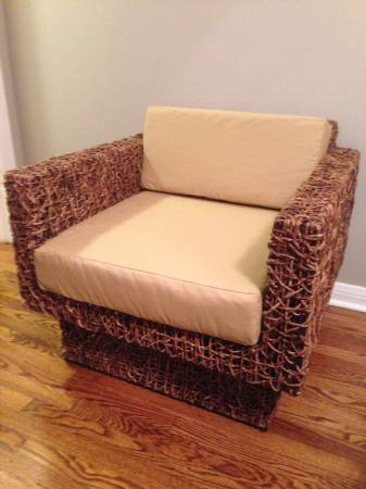 West Elm Woven Chair     $375     View on Craigslist