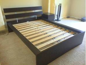 IKEA Queen Bed Frame     $30     View on Craigslist