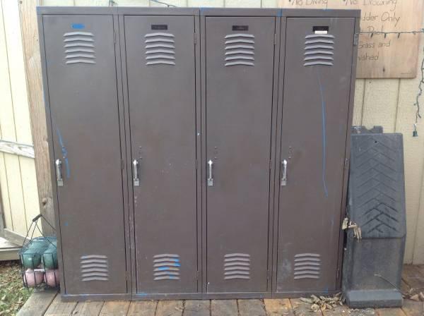 Full Size Lockers     $60     View on Craigslist