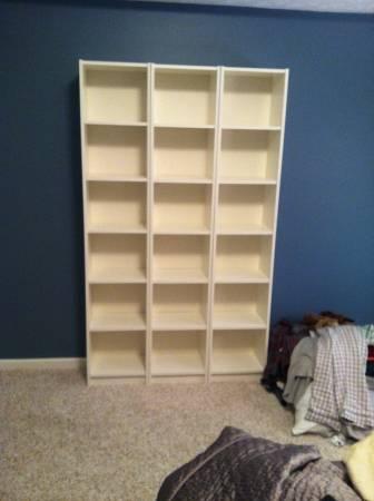IKEA Bookshelves     $40     View on Craigslist
