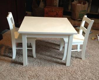 Pottery Barn Kids Table and Chairs     $125     View on Craigslist