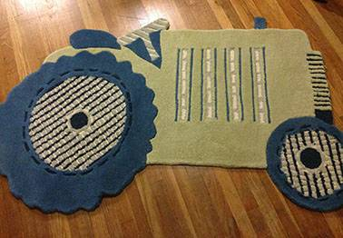 Pottery Barn Tractor Rug     $100     View on Craigslist