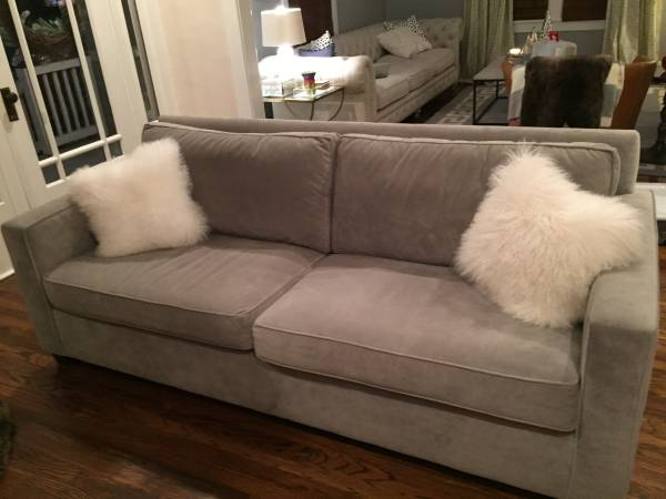 West Elm Henry Sofa     $750   This sofa retails for $999 (plus shipping and tax) at West Elm.    View on Craigslist