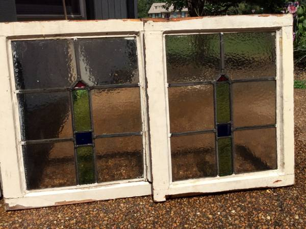Pair of Stained Glass Windows     $150     View on Craigslist