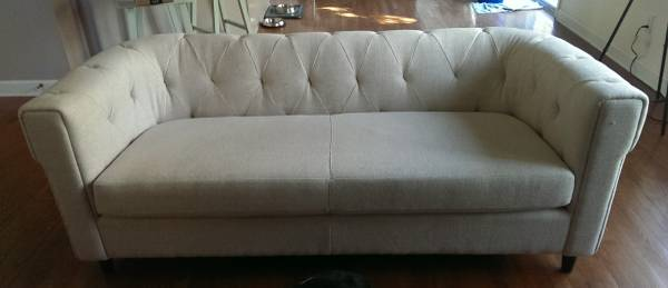 West Elm Chester Sofa     $900     View on Craigslist