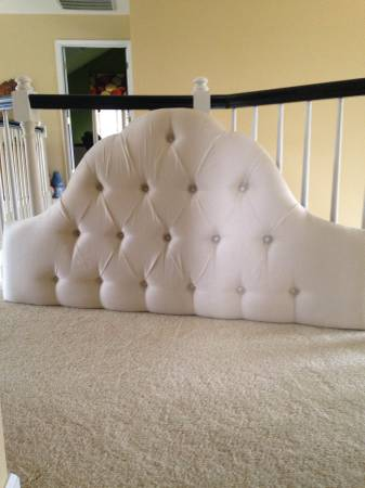 Queen Upholstered Headboard     $100     View on Craigslist