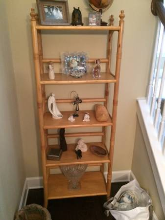 Bookshelf     $10   This would be a great piece to paint.    View on Craigslist