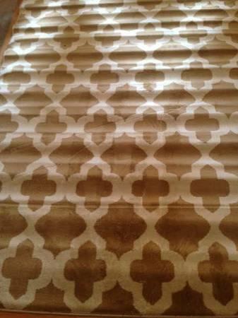 5' x 7' Trellis Rug     $70     View on Craigslist