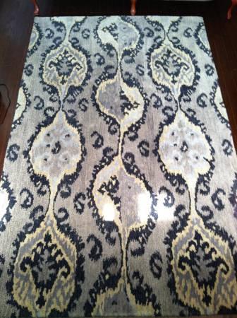 5' x 8' Wool Rug     $400     View on Craigslist