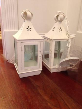 Pair of Lantern Pendant Lights     $100     View on Craigslist