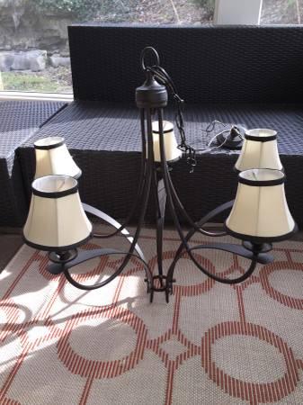 Five Light Chandelier     $35     View on Craigslist
