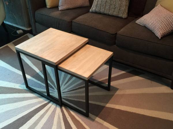West Elm Nesting Tables     $50     View on Craigslist