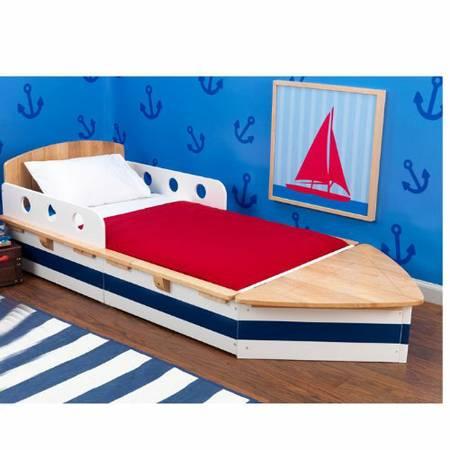 KidKraft Toddler Boat Bed     $120     View on Craigslist