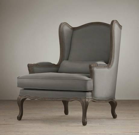 Restoration Hardware Lorraine Chair     $500     View on Craigslist