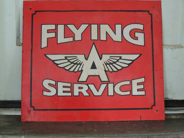 Flying A Service Sign     $75     View on Craigslist