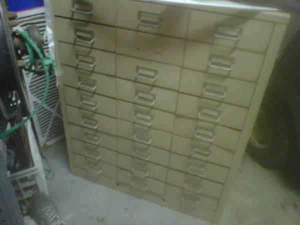 Steel Filing Cabinet     $40     View on Craigslist