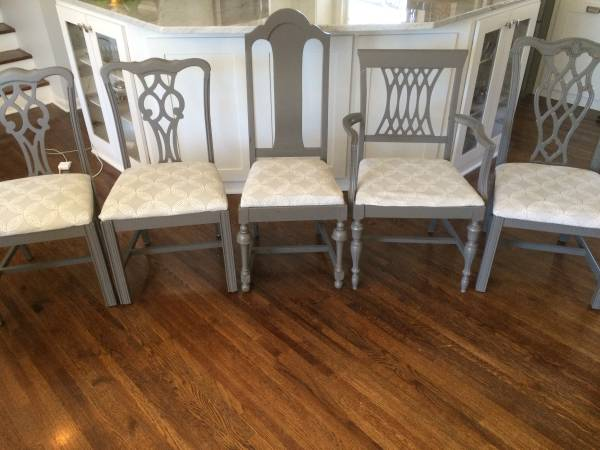 Set of Mismatched Dining Chairs     $200     View on Craigslist