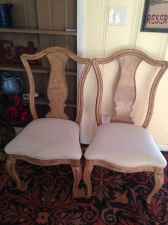 Set of 4 Dining Chairs     $90     View on Craigslist